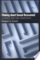 Thinking about Sexual Harassment Book