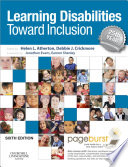 """Learning Disabilities E-Book: Towards Inclusion"" by Helen Atherton, Debbie Crickmore, Jonathan Evans, Eamon Shanley"