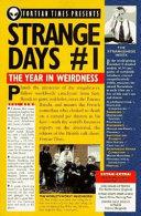 Strange Days  1 Book