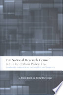 The National Research Council In The Innovation Policy Era