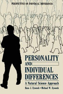 Personality and Individual Differences Book