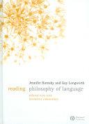 Reading Philosophy of Language
