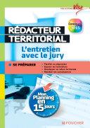 Visa - Rédacteur territorial - L'entretien avec le jury - Mon planning en 15 jours