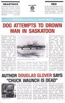 Dog Attempts to Drown Man in Saskatoon Book