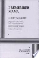 I Remember Mama Book PDF