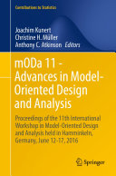 mODa 11   Advances in Model Oriented Design and Analysis