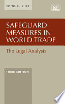 Safeguard Measures in World Trade