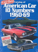 Catalog of American Car I  D  Numbers 1960 69