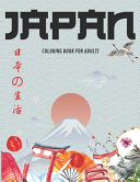 JAPAN Coloring Book For Adults
