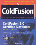 ColdFusion 5 0 Certified Developer Study Guide
