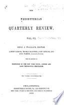 The Presbyterian Quarterly Review