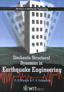Stochastic Structural Dynamics in Earthquake Engineering Book