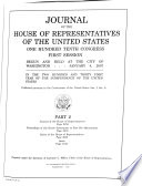 Journal of the House of Representatives of the United States Book