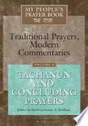 My People's Prayer Book: Tachanun and concluding prayers