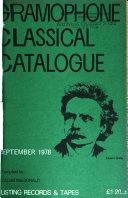 Gramophone Classical Catalogue