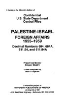 Confidential U S  State Department Central Files