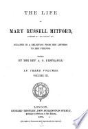 The Life of Mary Russell Mitford ...