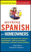 Working Spanish For Homeowners [Pdf/ePub] eBook