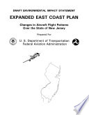 Expanded East Coast Plan, Changes in Aircraft Flight Patterns Over the State of NJ
