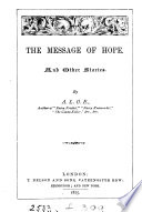 The message of hope  and other stories  by A L O E