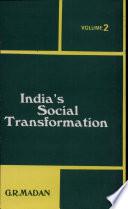 India's Social Transformation, Vol. 2 (PB)