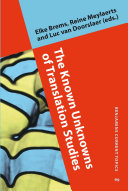 Pdf The Known Unknowns of Translation Studies Telecharger