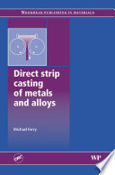 Direct Strip Casting of Metals and Alloys Book