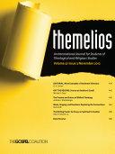 Themelios, Volume 37, Issue 3 Pdf/ePub eBook