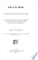 Book Of The Artists American Artist Life Comprising Biographical And Critical Sketches Etc