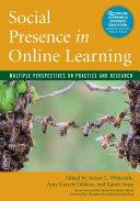 Social Presence in Online Learning