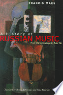 A History of Russian Music