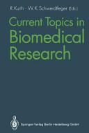 Current Topics in Biomedical Research Book