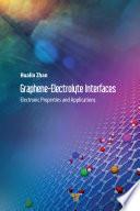 Graphene–Electrolyte Interfaces