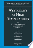 Wettability at High Temperatures Book