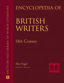 Encyclopedia of British Writers  1800 to the Present