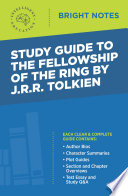 Study Guide to The Fellowship of the Ring by JRR Tolkien Book