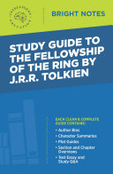 Pdf Study Guide to The Fellowship of the Ring by JRR Tolkien Telecharger