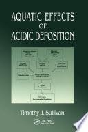 Aquatic Effects of Acidic Deposition