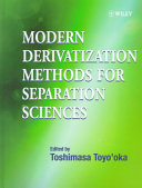 Modern Derivatization Methods for Separation Science Book