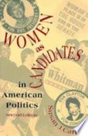 Women as Candidates in American Politics by Susan J. Carroll PDF