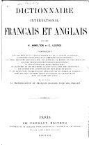 Dictionnaire international français et anglais