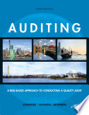 Auditing: A Risk-Based Approach to Conducting a Quality Audit