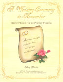 A Wedding Ceremony to Remember Book
