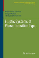 Elliptic Systems of Phase Transition Type