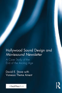 Hollywood Sound Design and Moviesound Newsletter