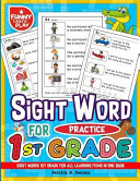 Sight Words 1st Grade for All Learning Items in One Book
