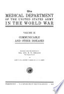 The Medical Dept  of the U S  Army in the World War Book