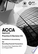 FIA Recording Financial Transactions FA1