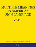 Multiple Meanings in American Sign Language Book