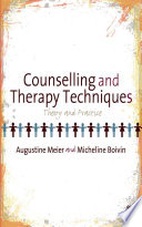 Counselling and Therapy Techniques